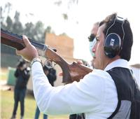 وزير الرياضة يتفقد الاستعدادات النهائية لاستضافة بطولة العالم للرماية