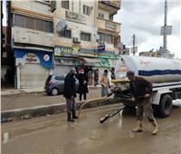 طوارئ في هذه المحافظة بسبب سقوط أمطار غزيرة ثلجية