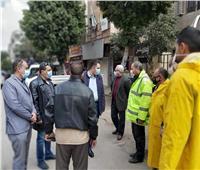نائب محافظ القاهرة يتابع استعدادات حي الساحل للأمطار