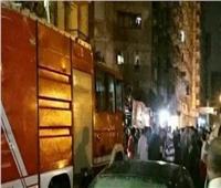 حريق هائل بالمعهد الفني الصناعي بالمحلة بسبب انفجار أسطوانة بوتاجاز