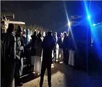 تشييع جنازة 9 من ضحايا غرق مركب بحيرة مريوط بالإسكندرية