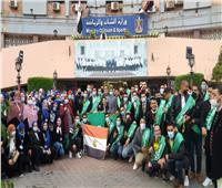 لقاء تنويرى لفضيلة المفتي ووزير الشبابمع طلاب جامعة المنوفية