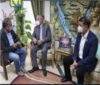 محافظ جنوب سيناء يستقبل مساعد وزير السياحة والآثار لشؤون المنشآت الفندقية