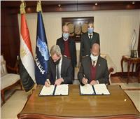 الفريق ربيع يشهد توقيع اتفاقية المساهمين مع شركة STERNER النرويجية