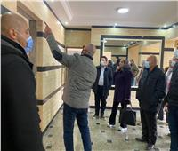 مسئولو «الإسكان» يتفقدون 1920 وحدة سكنية بتوسعات مدينة الشيخ زايد