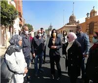 نائب وزير السياحة تتفقد خدمات «مسار العائلة المقدسة»| صور