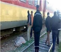 مصرع شابين أسفل عجلات قطار بالبدرشين