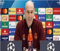 زيدان يتحدث عن فوز ريال مدريد على أتالانتا