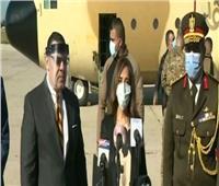 وزيرة الدفاع اللبنانية: أوجه الشكر للرئيس السيسي على مساعدته لنا.. فيديو