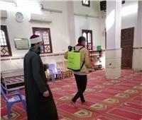 «أوقاف المنيا» تواصل حملة نظافة وتعقيم المساجد.. صور