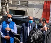 وزير التموين يتفقد مطحن وصومعة إدفو