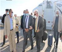 محافظ جنوب سيناء يستقبل وزير الزراعة في زيارته لتفقد بعض المشروعات