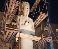 وزيرا السياحة والطيران يتفقدا أعمال الترميمات الجارية بمعبد الأقصر