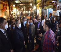 وزيرا الطيران والسياحة يتفقدان السوق السياحي بالأقصر | صور وفيديو