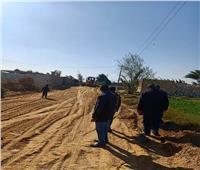 ضمن مبادرة حياة كريمة..إقامة وحدة بيطرية بقرية بالمنيا