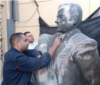 الأحد.. عودة تمثال «ملك العود» بعد ترميمه لشارع الفن
