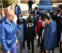 وزير الشباب يصل الواحات لافتتاح منشآت رياضية