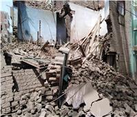 إصابة ٣ أشخاص في انهيار منزل بأسيوط