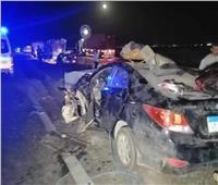 مصرع شخص وإصابة 3 في حادث تصادم بالطريق الدائري