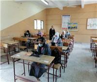 استقرار العملية التعليمية في امتحانات «الأول ثانوي» داخل اللجان