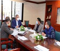محافظ سوهاج يتابع المخطط التنفيذي للمشروع القومي لتطوير الريف المصري