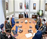 الحي الدبلوماسي ومدينة الخيول يتصدران اجتماع «السيسي» الخاص بإنشاءات العاصمة الإدارية| فيديو