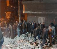 استخراج 4 جثث من أسفل الأنقاض.. نائب محافظ أسيوط يتفقد المنزل المنكوب