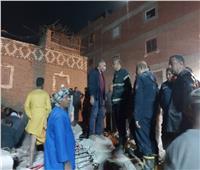إنقاذ 10 أشخاص من أسفل الأنقاض وانتشال 3 جثث في عقار أسيوط المنهار
