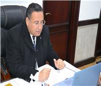 لجنة لمتابعة ملف البصمة الكربونية بجامعة الاسكندرية