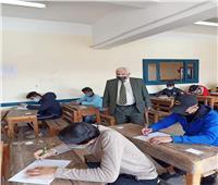 «تعليم الإسكندرية» يتابع امتحانات النقل بإدارة وسط التعليمية