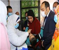 نائب المحافظ يدشن الحملة القومية للتطعيم ضد مرض شلل الأطفال بالمنوفية