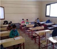 محافظ المنوفية يتابع سير الامتحانات بقرى الباجور.. صور