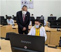رئيس جامعة القناة يتابع إنتظام لجان الامتحانات بالكليات