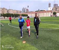 بعد تكريم وزير الشباب.. الطفل إبراهيم ينتظم في تدريبمنتخب الشرقية للصم