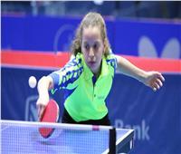 لاعبة تنس الطاولة بالأهلي تعلق على خسارتها في بطولة قطر الدولية
