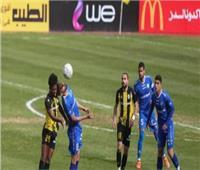 شوط أول سلبي بين نادي البنك الأهلي وأسوان