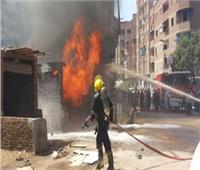 مصرع عامل وإصابة زميله في حريق ورشة موبليات بأسيوط