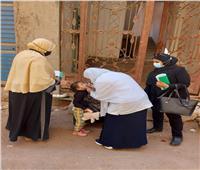 إنطلاق الحملة القومية للتطعيم ضد مرض شلل الأطفال بالغربية