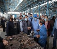 رئيس «السكة الحديد» في زيارة ميدانية لمتابعة الأعمال بورش ومحطة العباسية
