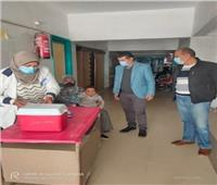 انتهاء اليوم الأول من حملة التطعيم ضد شلل الأطفال في المنيا.. صور