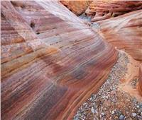 بالصور  قصة وادي الكانيون الملون بجنوب سيناء