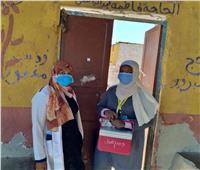 تطعيم 131 ألفا و401 طفل خلال اليوم الأول من حملة شلل الأطفال بأسوان