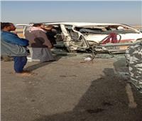 ننشر أسماء المصابين في حادث طريق «السويس-الإسماعيلية»