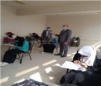 التزام بالإجراءات الاحترازية في التربية الرياضية للبنات جامعة الأزهر