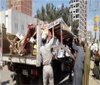 الأقصر تشن حملة مكبرة لإزالة الإشغالات من الشوارع والميادين