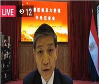 لياو لي تشانغ: الصين تعمل علىتشجيع المزيد من شركاتها للاستثمار في مصر