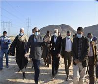 محافظ أسيوط يتفقد محطة معالجة صرف صحي المشايعة