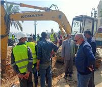 محافظ أسيوط يشدد على الانتهاء من إصلاح خط الغاز الطبيعي بكورنيش النيل
