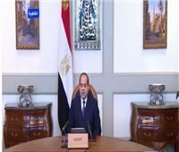 السيسي: مصر ملتزمة بتفعيل ملف إعادة الإعمار ما بعد النزاعات