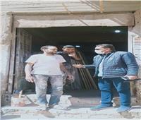 حصر المنشآت الصناعية أسفل المنازل في أسوان
